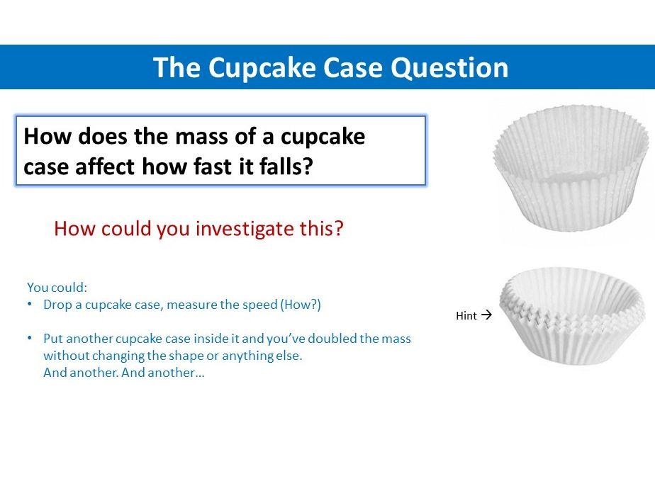 Falling Cupcake Cases Investigation