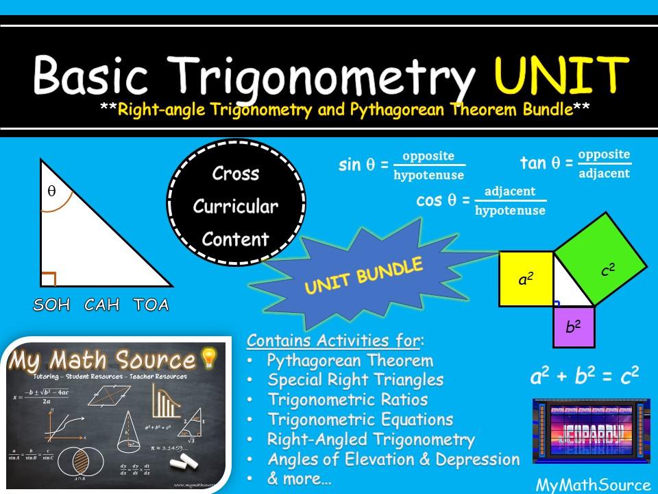 Right-Angle Triangles & Basic Trigonometry Unit