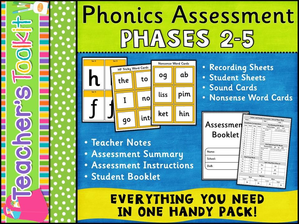 Phonics: Phonics Assessment Phases 2-5