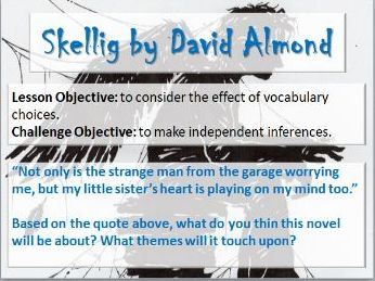 Chapter One of 'Skellig' by David Almond