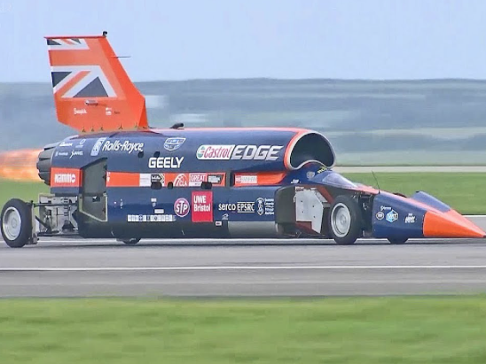 KS3 Science and Engineering Project Ideas: Bloodhound SSC Jet Car.