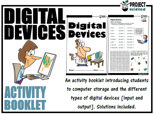Digital Devices Activity Booklet