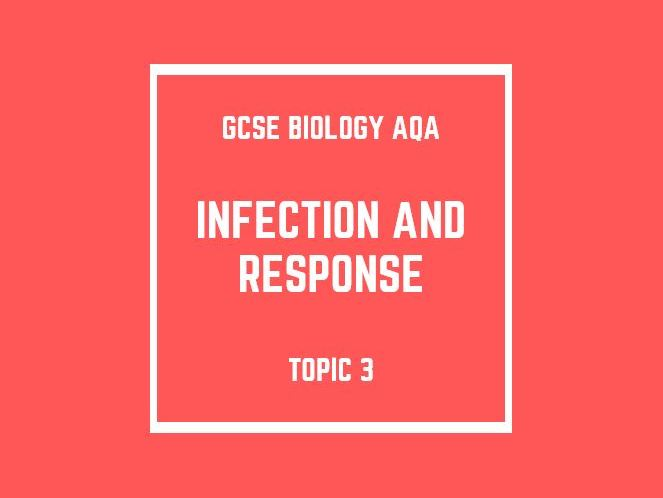 GCSE Biology AQA Topic 3: Infection and Response