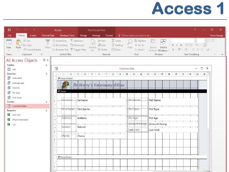 Access 2016 1