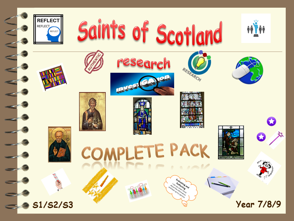 Saints of Scotland research - complete pack