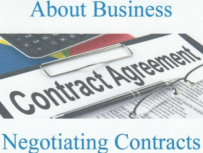 About Business- Negotiating and Assessing Contracts