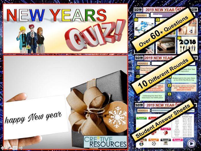 New Year Quiz 2019