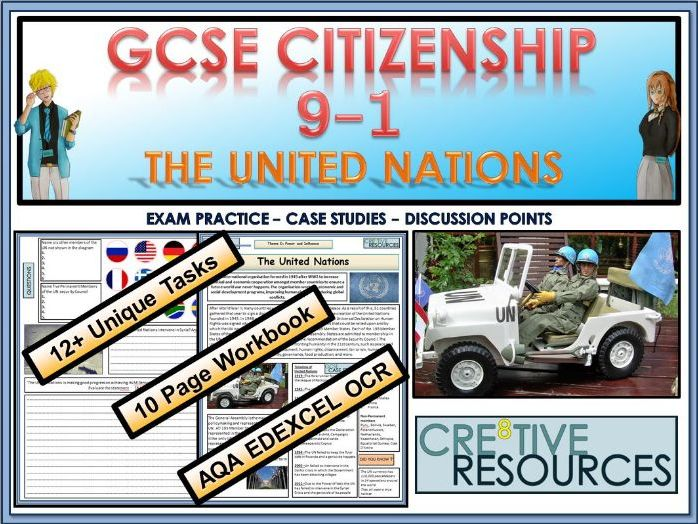 GCSE Citizenship (9-1) - The United Nations