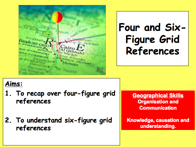 Map Skills: Six-Figure Grid References