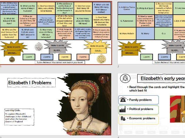 Elizabeth I Problems