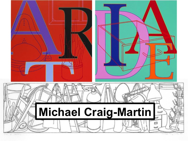 Artist Analysis: Michael Craig-Martin