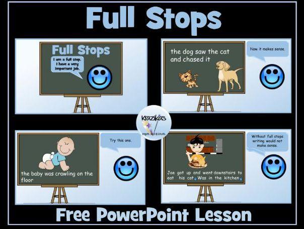 Full Stops PowerPoint Lesson