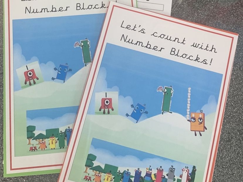 Numberblocks front cover