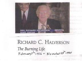 Richard C. Halverson  Richard (1916-1995)