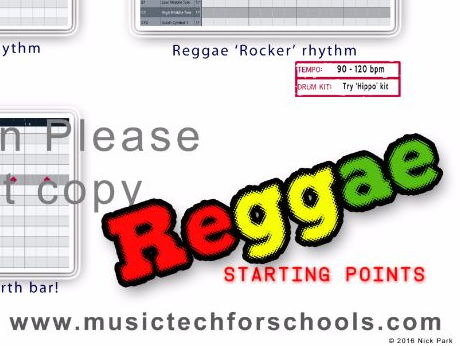 cubase drum maps Reggae