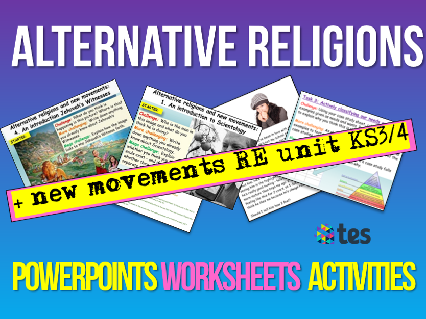 Alternative Religions + Cults