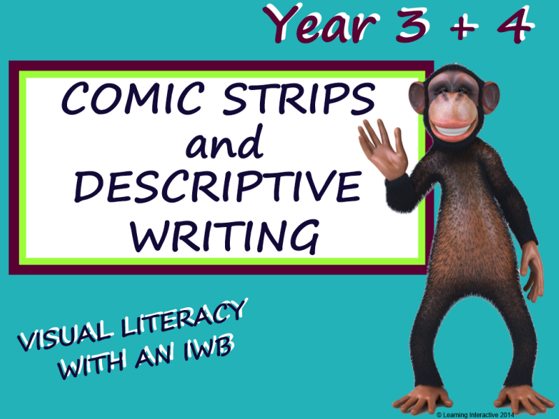 Visual Literacy – Comic Strips / Writing – Year 3 & 4