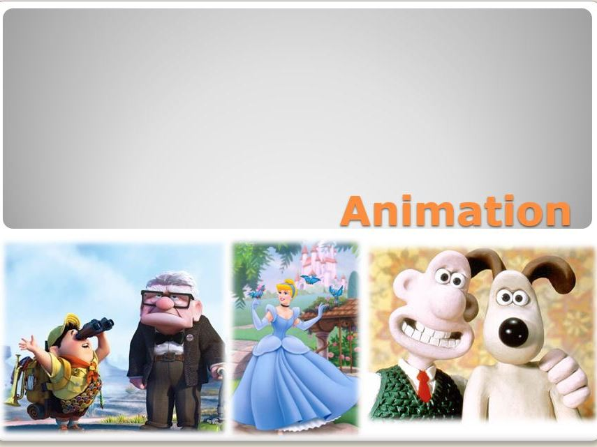 Animation - complete unit of work