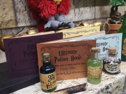 Potions Class- Designing, Instructions and Explanations
