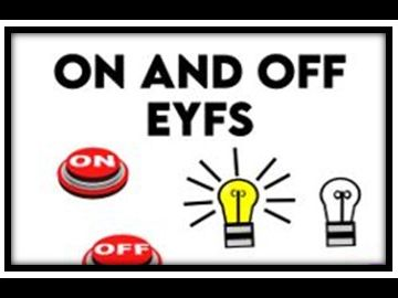 On and Off  EYFS