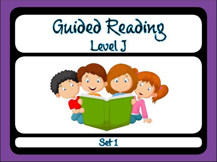Guided Reading Level J Set 1