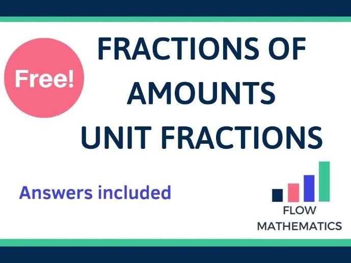 Fractions of amounts (numerator = 1)