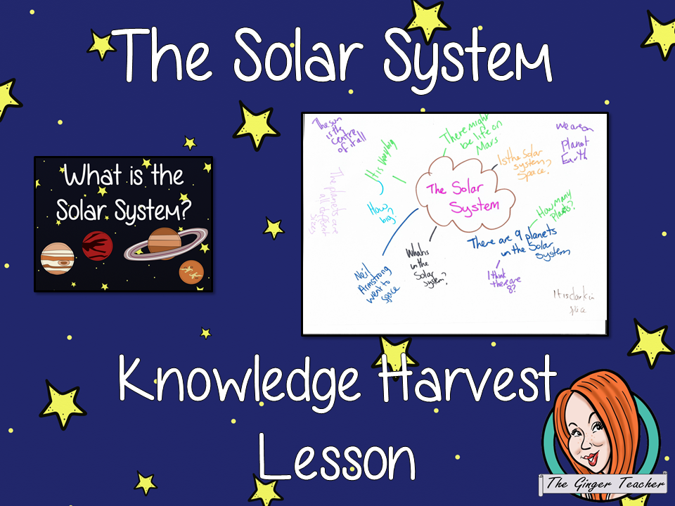 The Solar System Space Knowledge Harvest Lesson
