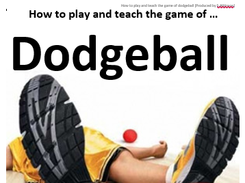 KS4 Dodgeball Resources and Lesson Plans