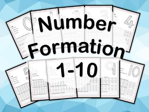 Number Formations 0-10