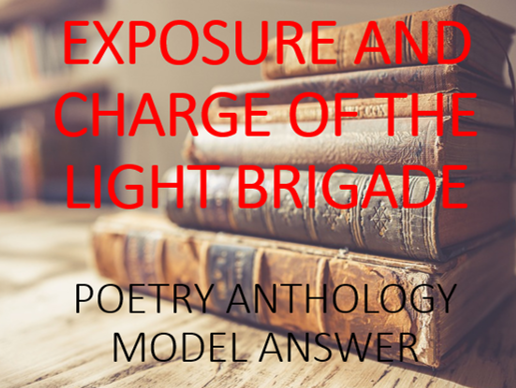 Full Marks Answer: Comparing Exposure and Charge of the Light Brigade