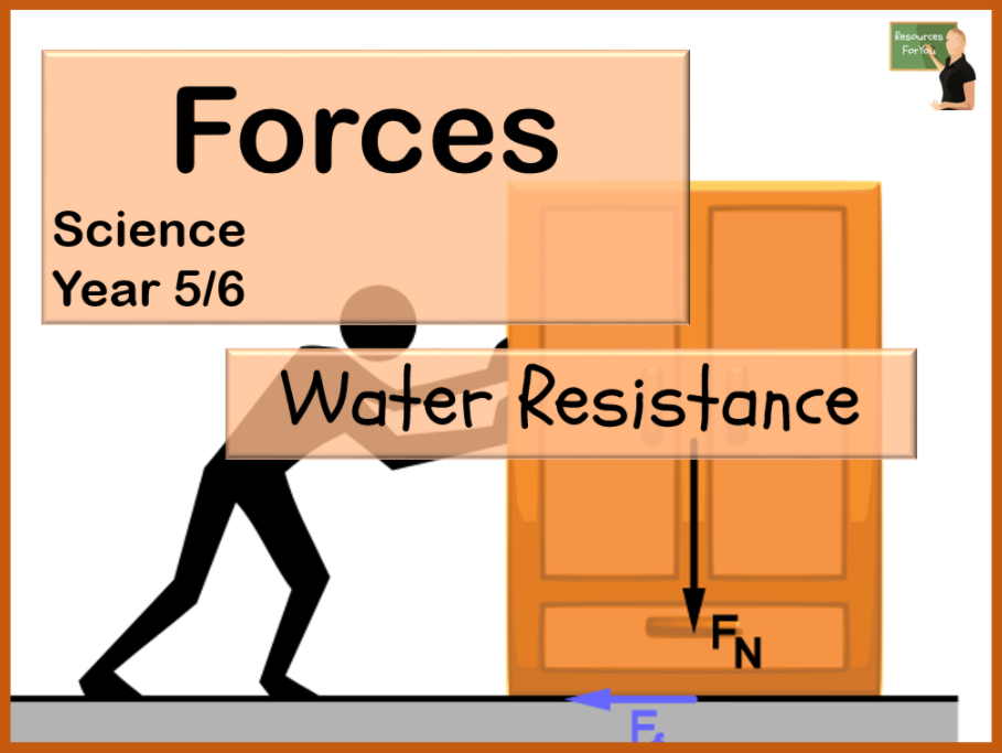 Science- Forces- Water Resistance Year 5/6