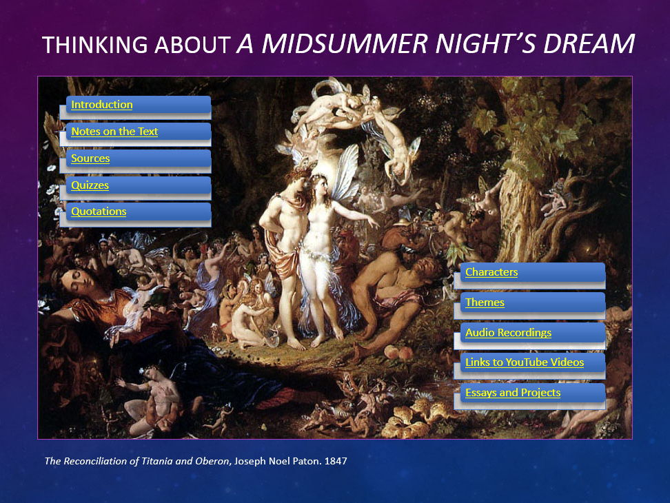 A Midsummer Night's Dream PowerPoint Presentation