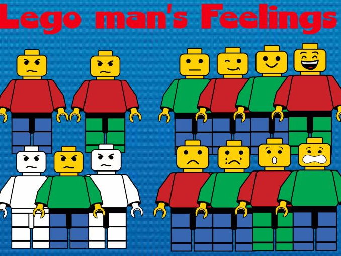 Lego man's feelings