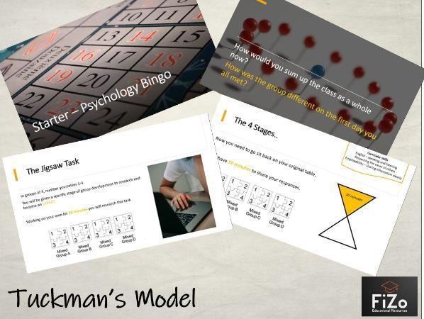 BTEC Sport L3 - Tuckman's Model