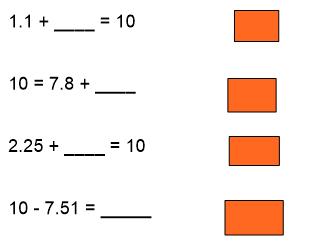 Adding three digit decimals KS2
