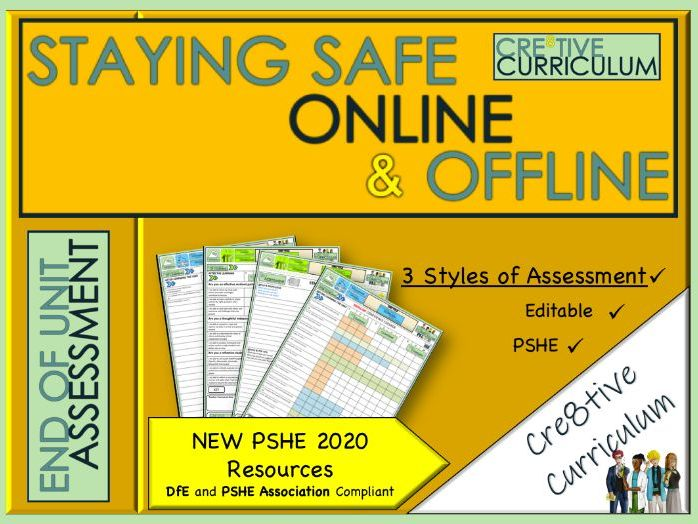 Staying safe online and offline Assessment