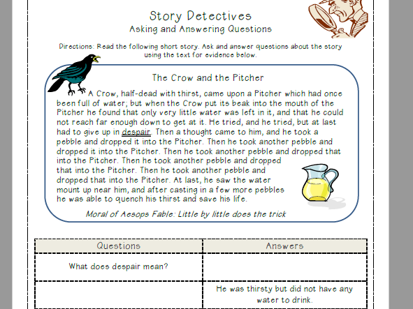 Ereadingworksheets text structure practice 1