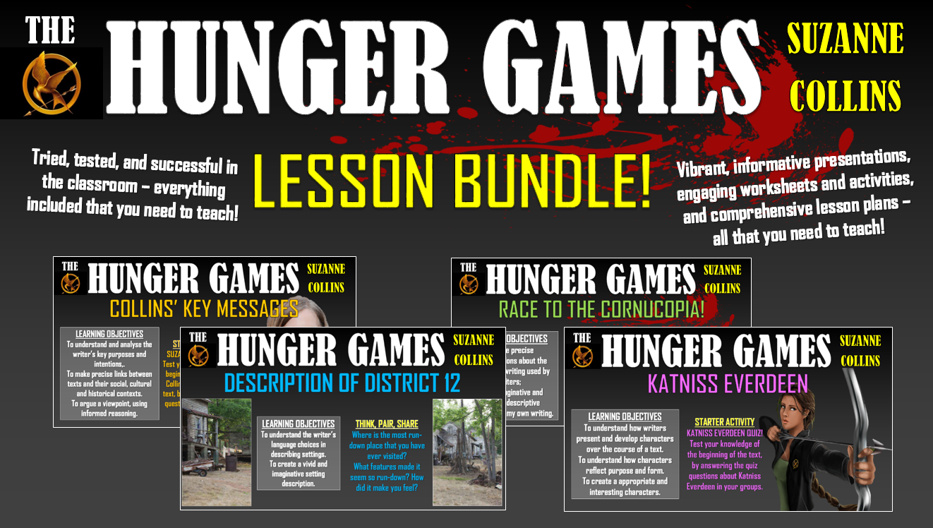 The Hunger Games Lesson Bundle!
