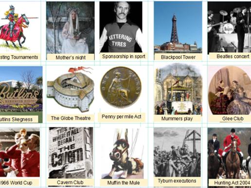 Eduqas GCSE History Entertainment & Leisure REVISION ACTIVITIES