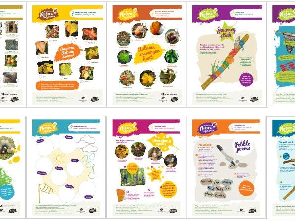 Forest School activity sheets