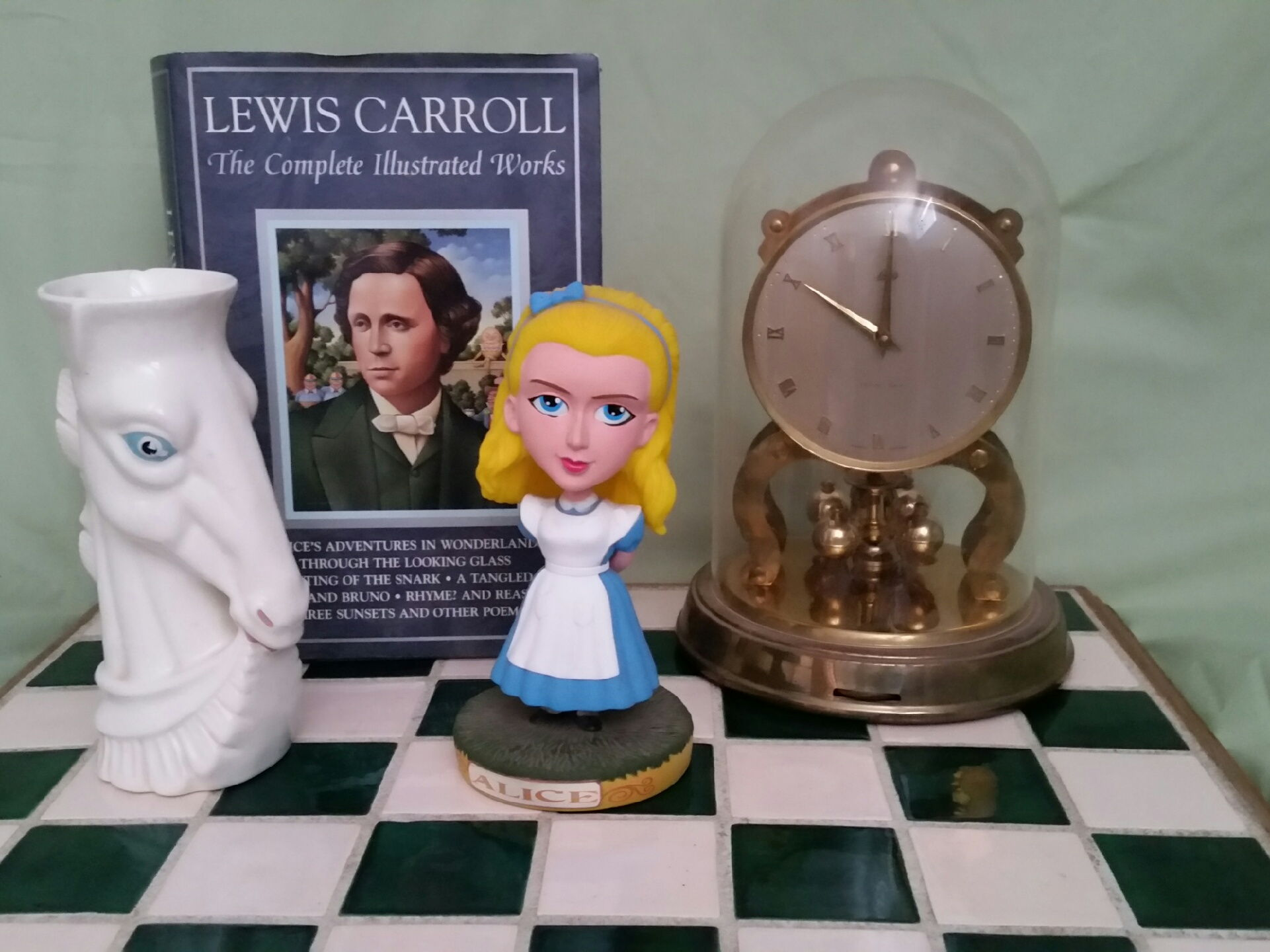 "Lights! Camera! Literature!  Spike's ""Alice Through the Looking Glass"" Tool Kit"