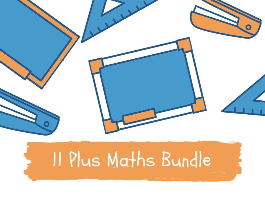 11 Plus Maths Bundle