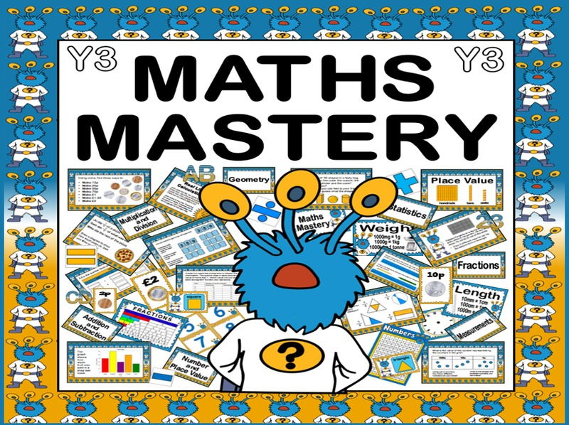 MATHS MASTERY RESOURCES FOR YEAR 3  KEY STAGE 2