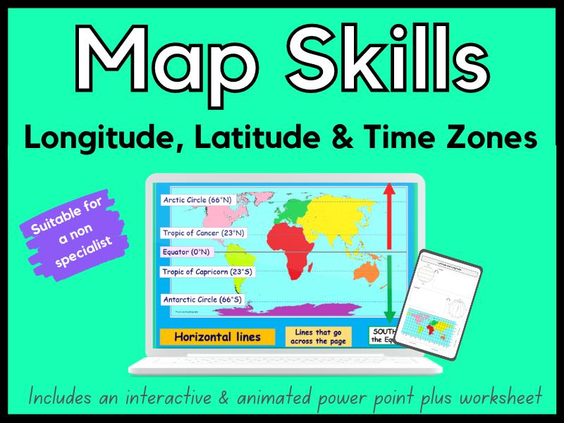 Longitude Latitude & Time Zones