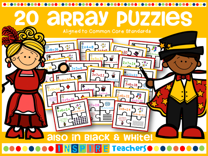 20 Array Puzzles