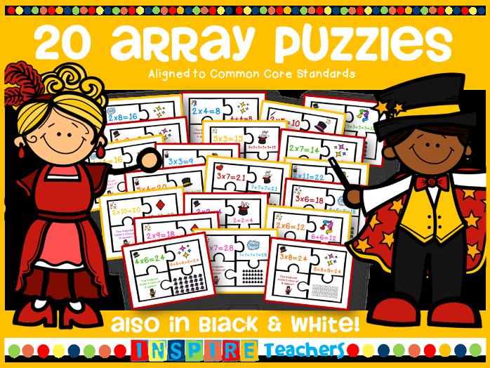 20 Array Puzzles