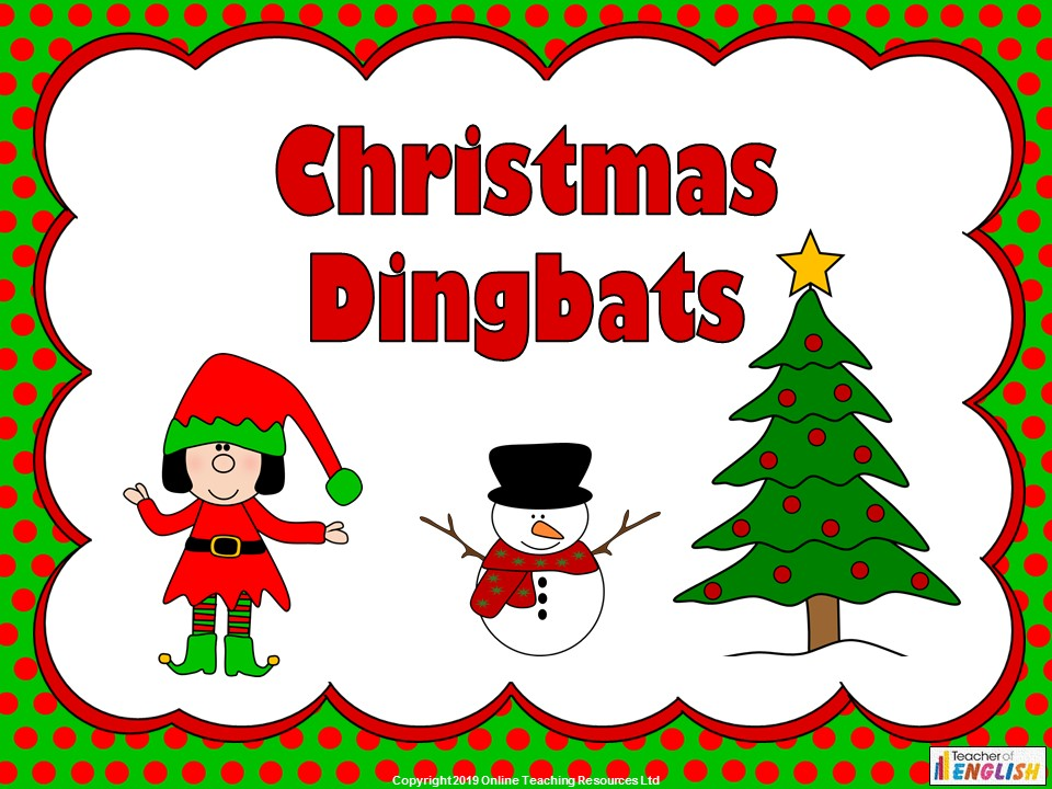 Christmas Dingbats