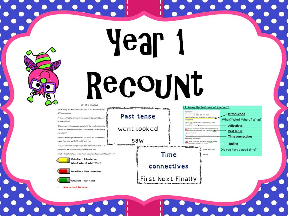 Year 1 Recount Features