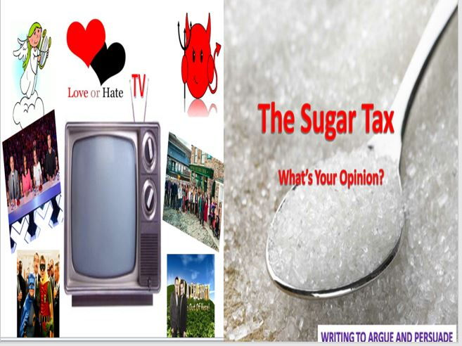 TV Love or Hate + The Sugar Tax with Starters