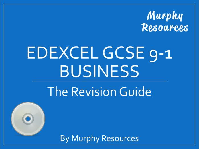 Edexcel GCSE 9-1 Business Revision (Sample)